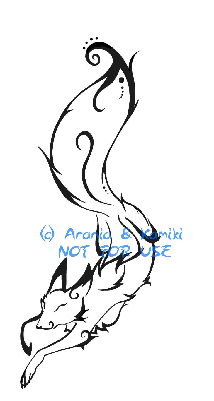 Pics photos dolphin tattoo design tattoos art and designs - Simple Fox Tattoo Fox Tattoo Design For Kamiki