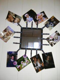 DIY photo mirror - Daily DIY Life