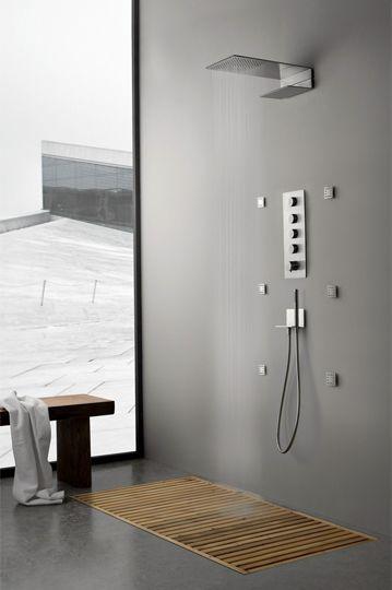 Shower Panel By Rubinetterie Design OCO Studio