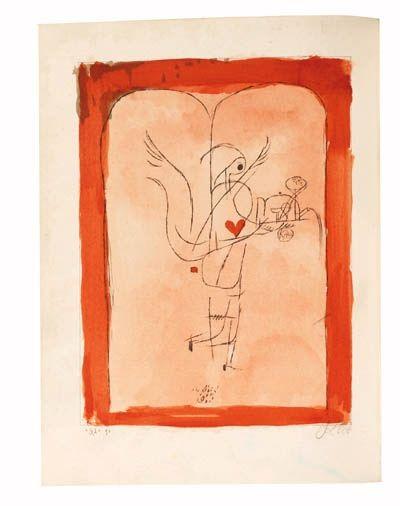 Wilhelm Uhde, Die Freude, Burg Lauenstein, Oberfranken - Paul Klee