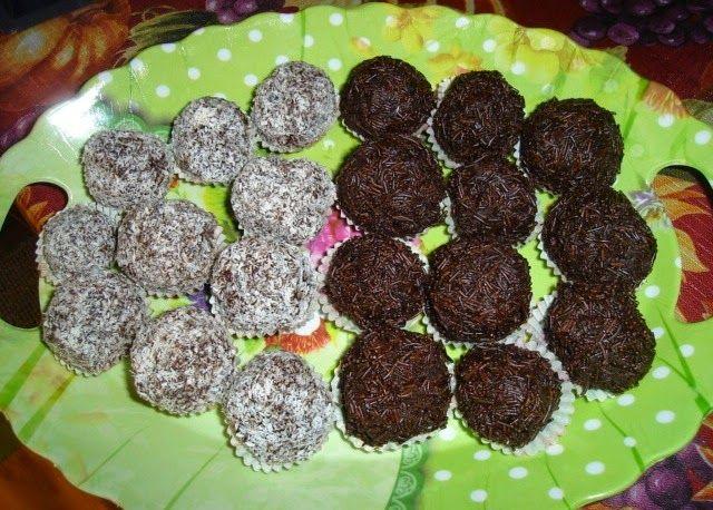Make My Day! : Σοκολατάκια με μπισκότο και τυρί κρέμα