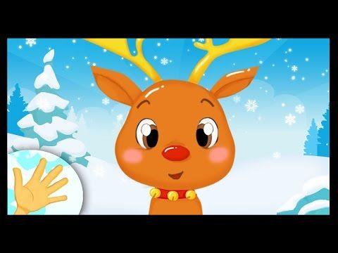 Comptinette du renne de Noël - comptine à gestes - YouTube