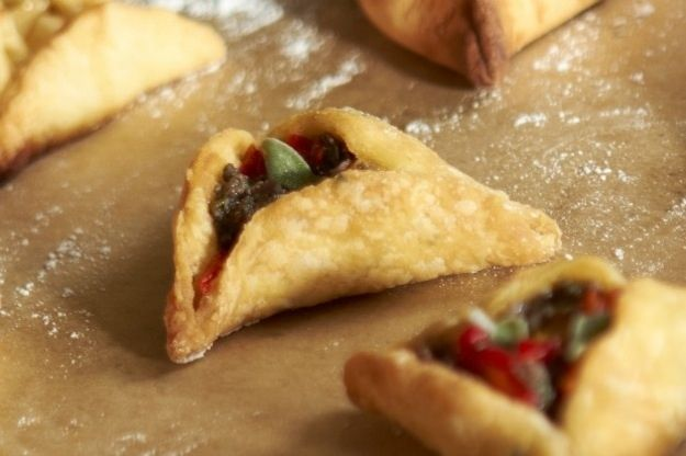 ... Hamantaschen with Pear & Goat Cheese Filling | 32 Crazy Hamantaschen