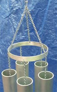 Easy Design and Build Your Own Tubular-Bell Wind Chime Set from Tubes, Pipes or Rods