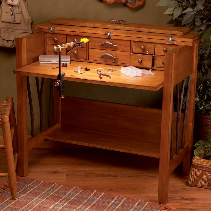 81 Best Images About Mikes Fly Tying Desks On Pinterest