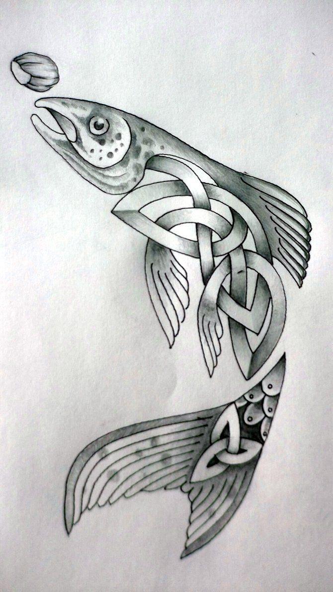 celtic tattoo fish - Buscar con Google