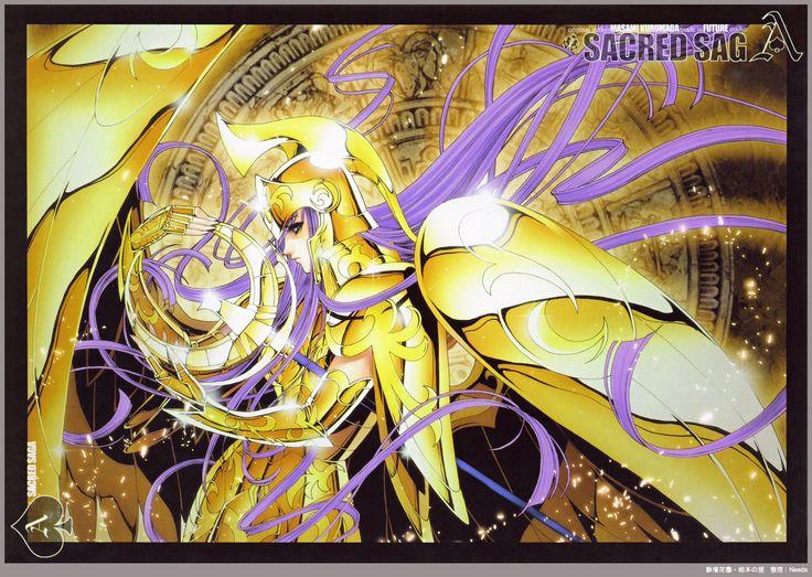 Saint Seiya Sacred Saga Artbook