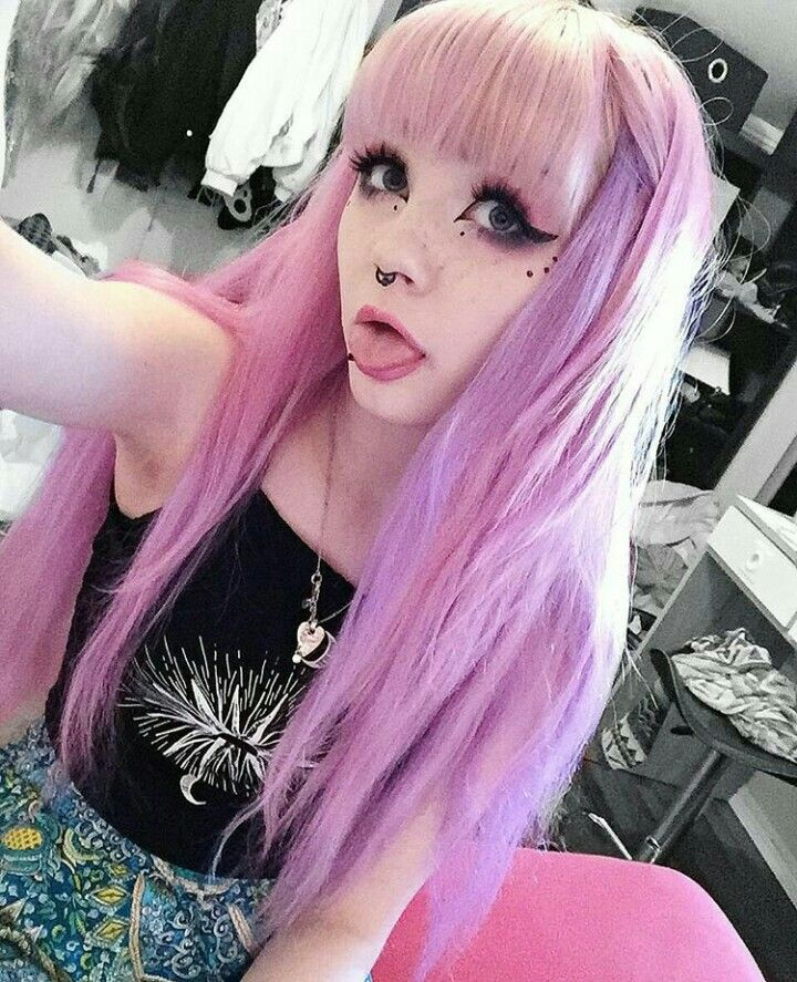 Pastel Goth Pastel Goth Hair Goth Hair Gothic Hairstyles