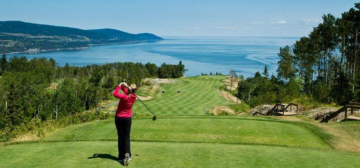 Golf au Fairmont Le Manoir Richelieu