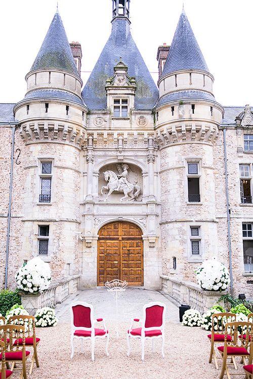 Ashlan Gorses Fairytale Wedding At A French Chateau