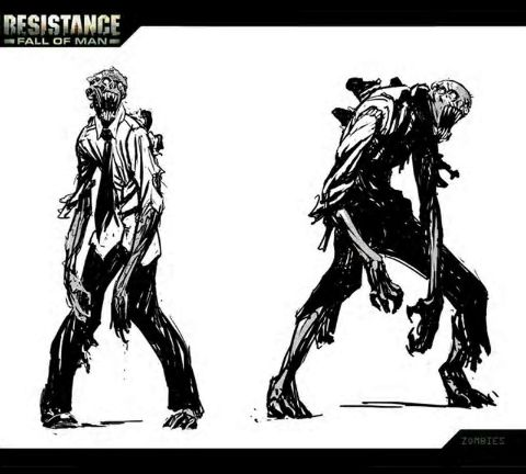 Resistance: Fall of Man - Zombies concept