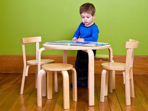 Mocka Wood Table and Chairs