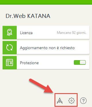 protezione in tempo reale con Dr.Web Katana | Sicurezza informatica
