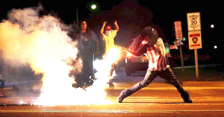 Ferguson Protester From Iconic Photograph Found Dead