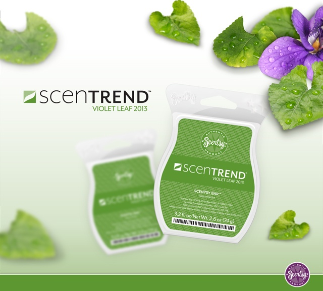 Check out the newest trend in home fragrance from Scentsy - Violet Leaf! ScenTrend will help you explore & develop your passion for scent!