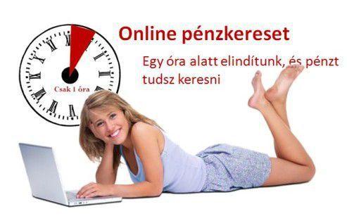 Szeretnél online pénzt keresni? 1 órán belül el tudsz indulni, hogy pénzt keress online. http://tinyurl.hu/5QVj/