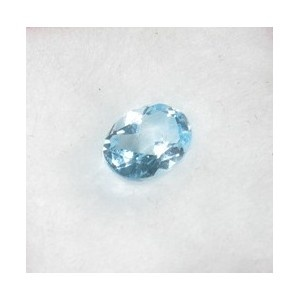 Jual Batu Natural Light Blue Topaz