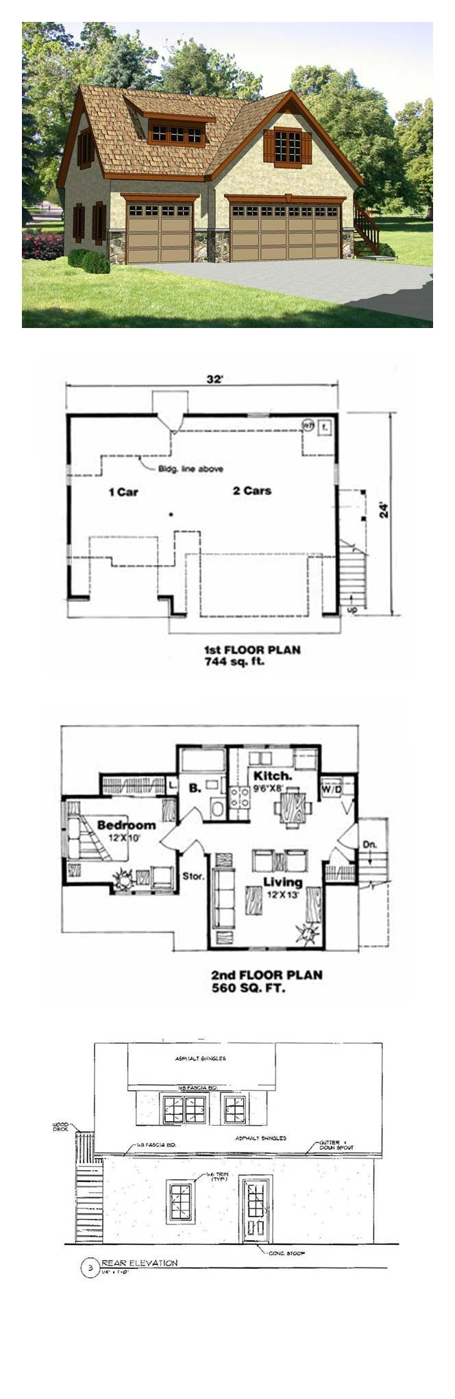 74 best Garage plans, Garage designs with apartment & Shed plans ...
