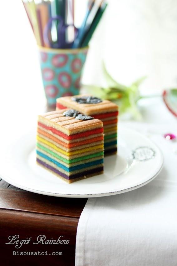 Lapis Legit Rainbow - Wow!