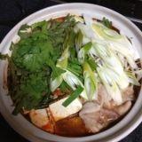 子供も食べられる味噌キムチ鍋