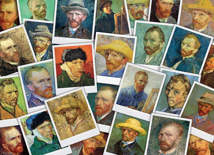 Van Gogh Portraits by Vincent van Gogh. 1000 pieces.