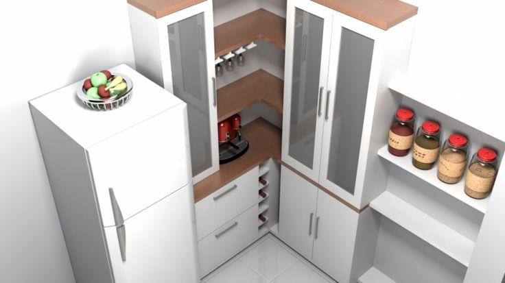 Dise os de gabinetes esquineros de cocina buscar con for Disenos de gabinetes de cocina