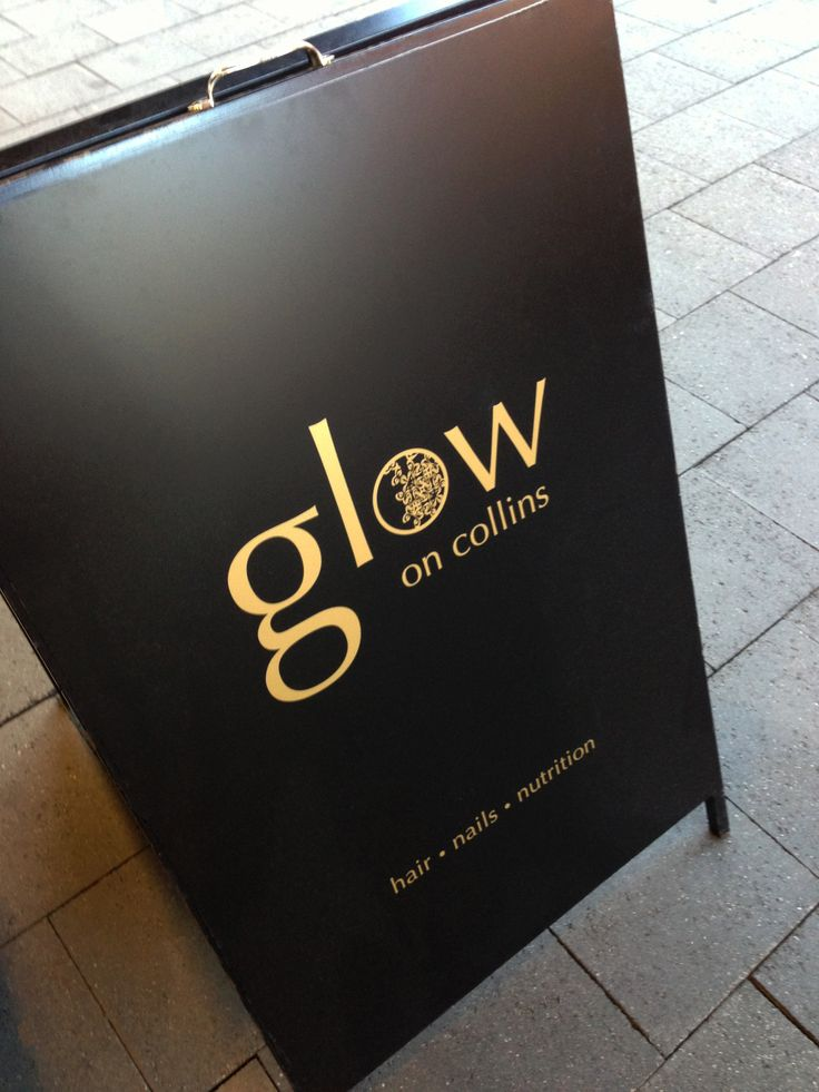 Logo design and photography for 'Glow On Collins' hairdressing, by Jane Valentine.
