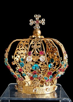 Our Lady's crown, 19th century