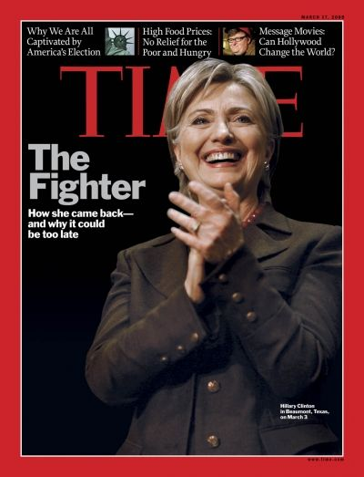 TIME Magazine Cover: The Fighter - Mar. 17, 2008