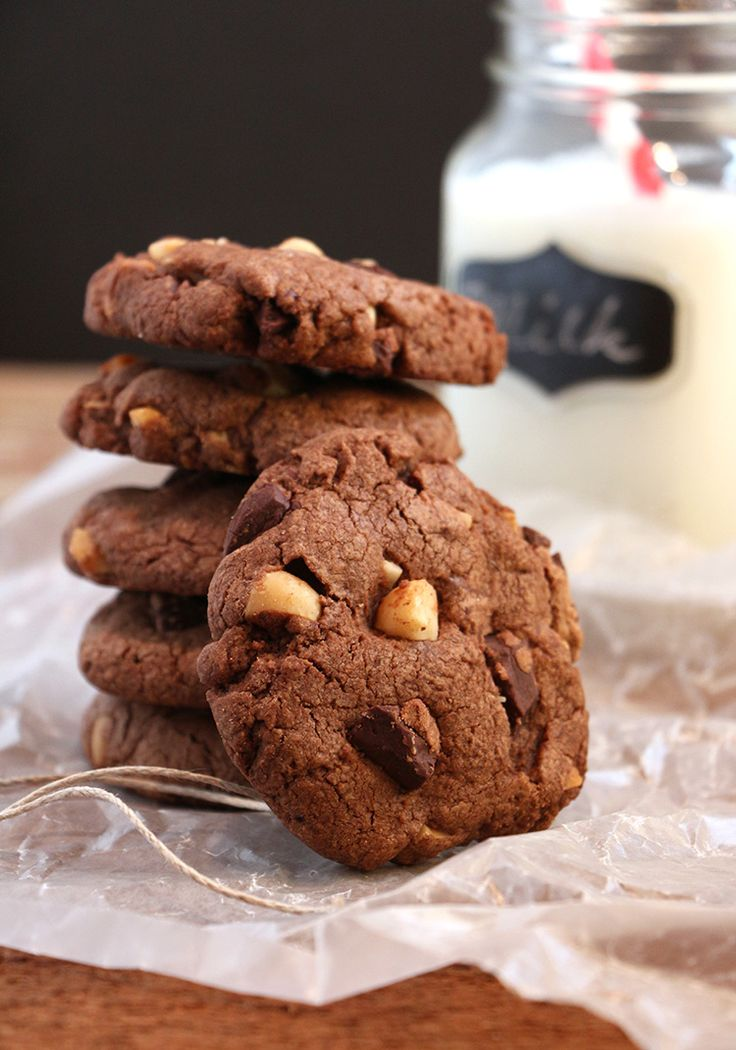 These cookies are perfect for the chocolate lover …