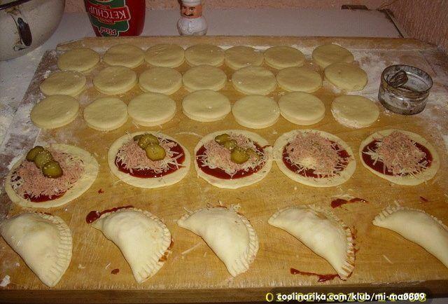 Pizza kapsičky so šunkou a syrom. TIP na chutnú večeru - Báječná vareška
