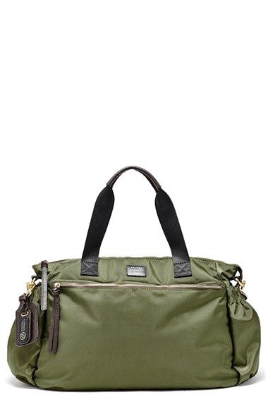 Hayden-Harnett 'Voyager' Water Resistant Nylon Weekend Bag available at #Nordstrom