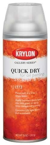 Quick Dry For Oil Paintings #OilPaintingTutorial