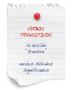 Verbos transitivos | La guía de Lengua
