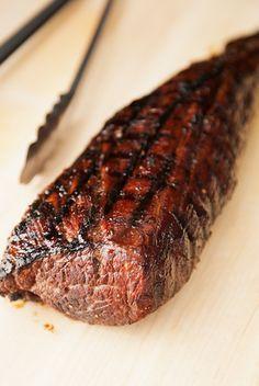 bourbon-glazed beef tenderloin recipe plus montreal steak seasoning | use real butter