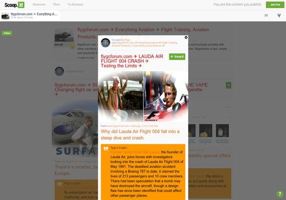 flygcforum.com ✈ LAUDA AIR FLIGHT 004 ✈ Niki Lauda: Testing the Limits ✈