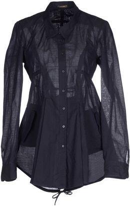 LE JEAN DE MARITHÉ   FRANÇOIS GIRBAUD Shirts - Shop for women's Shirt - Dark blue Shirt