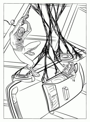 24 best coloring sheets for boys images on Pinterest Coloring - fresh spiderman coloring pages hellokids.com
