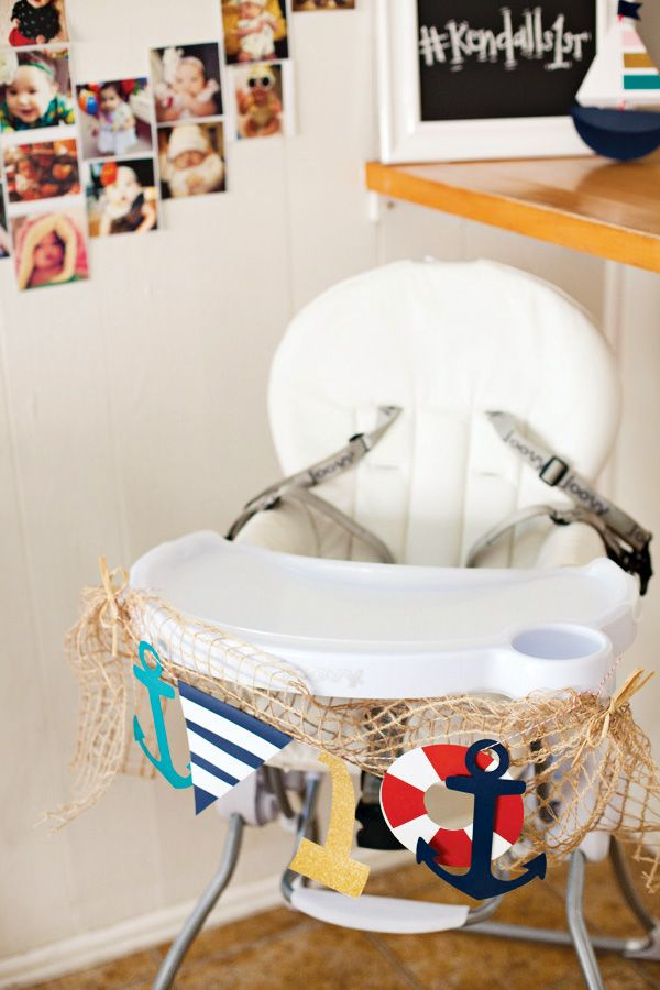 An Adorable Little Sailor Girl Party {Nautical First Birthday}