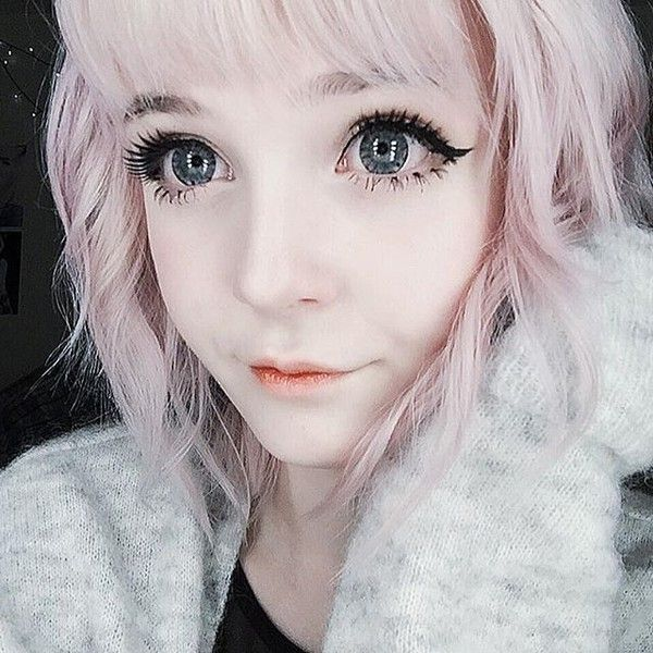 Pin by honey on Polyvore | Kawaii makeup, Aesthetic people ...