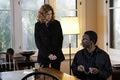 Sandra Lombardini (Lolita Davidovich) discusses a BAU case with Stanley Usher (V...