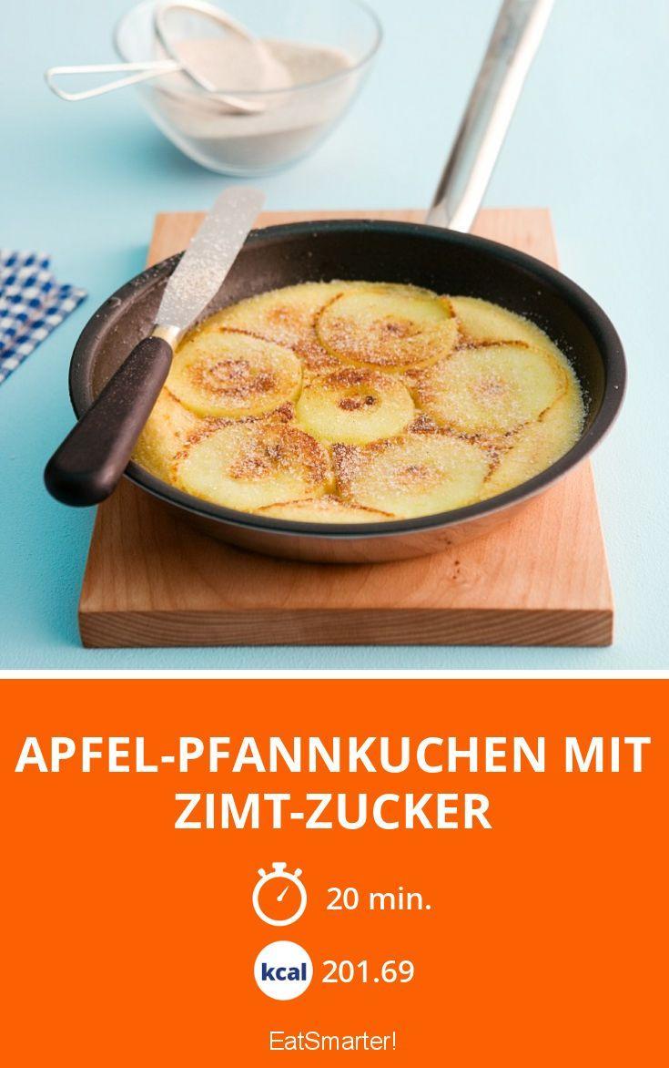 Apfel-Pfannkuchen mit Zimt-Zucker - smarter - Zeit: 20 Min. | eatsmarter.de