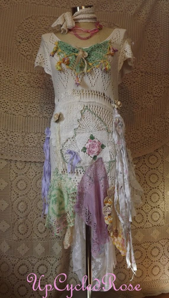 Pretty Paulette Shabby Couture Bohemian Chic Barn by UpcycledRose, $266.50