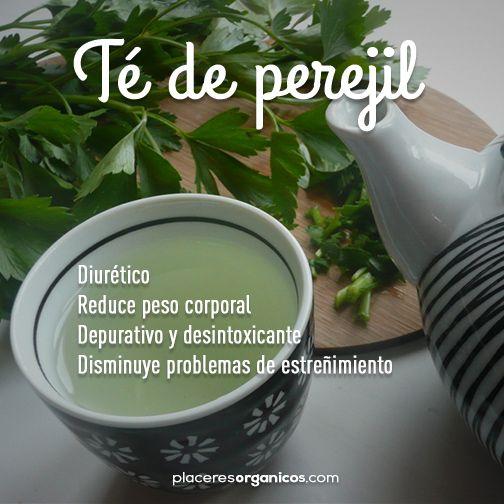 Té de perejil #Salud #Nutrición #Consejos