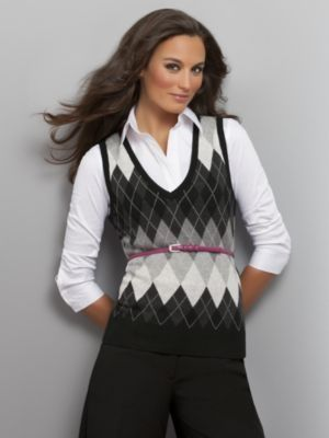 Sweater Vests for Women | details shop for women s vests at new york and company argyle is ...