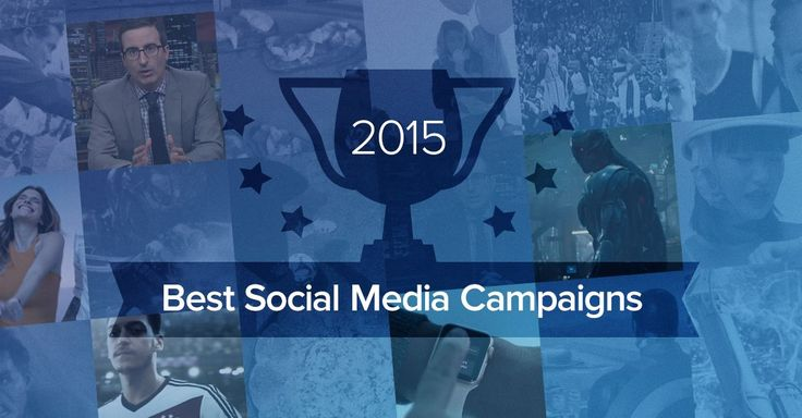 The Five Best Social Campaigns of the Year | Social Media Statistics & Metrics | Socialbakers