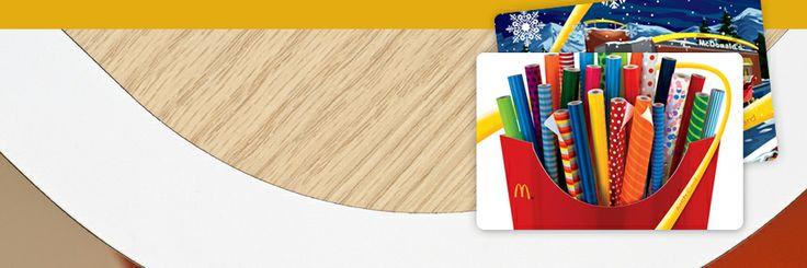 McDonalds gift card - Sweet tea, here I come!