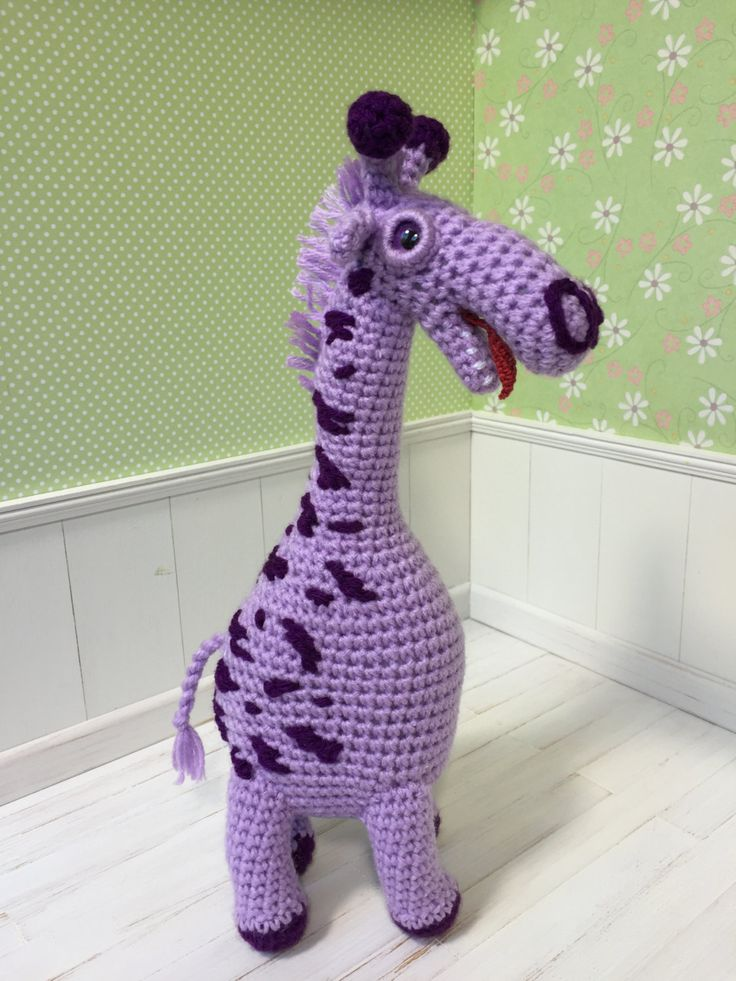 Giraffe Violet Amigurumi Crochet Toy Animal Baby Girl Soft Customized Toys Handmade Gihttps://www.etsy.com/listing/250152133/giraffe-violet-amigurumi-crochet-toy?ref=listing-shop-header-2ft -