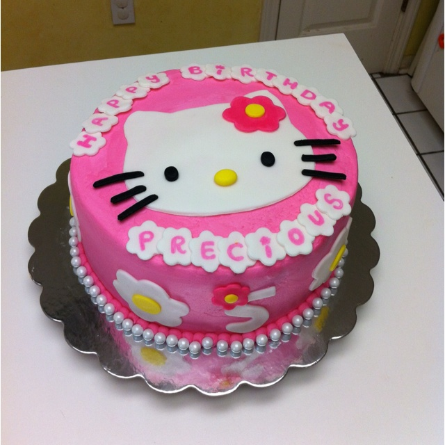 Cake Designs For Baby Girl 5th Birthday : 30 best images about Maddies birthday cake ideas on Pinterest