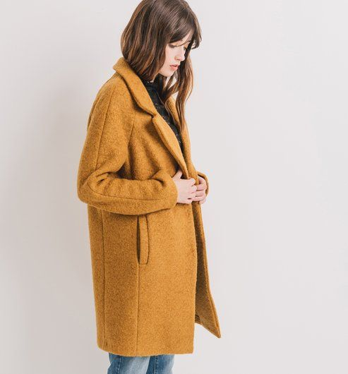 Super Les 25 meilleures idées de la catégorie Manteau laine sur  JE63